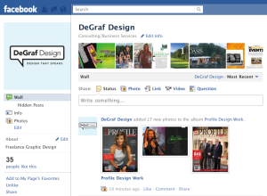 DeGraf Design is on Facebook!